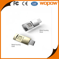 WOPOW Hot Product fingerprint mobile phone usb flash drive bulk otg usb