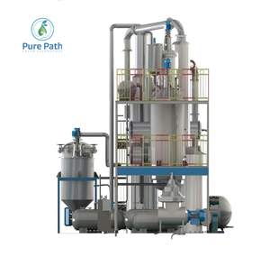 China Purepath Engine Purifier Filter Oil Purification Machine