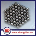 G100 1mm 2mm 3mm 4mm AISI 52100 chrome steel ball for bearings