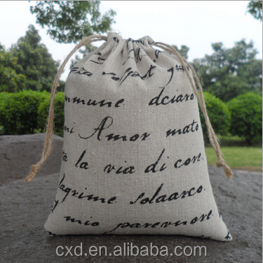 Promotional customized jute bags