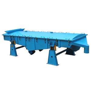 High Efficiency 3 Deck Silica Sand Dewatering Vibrating Screen For Washed Sand