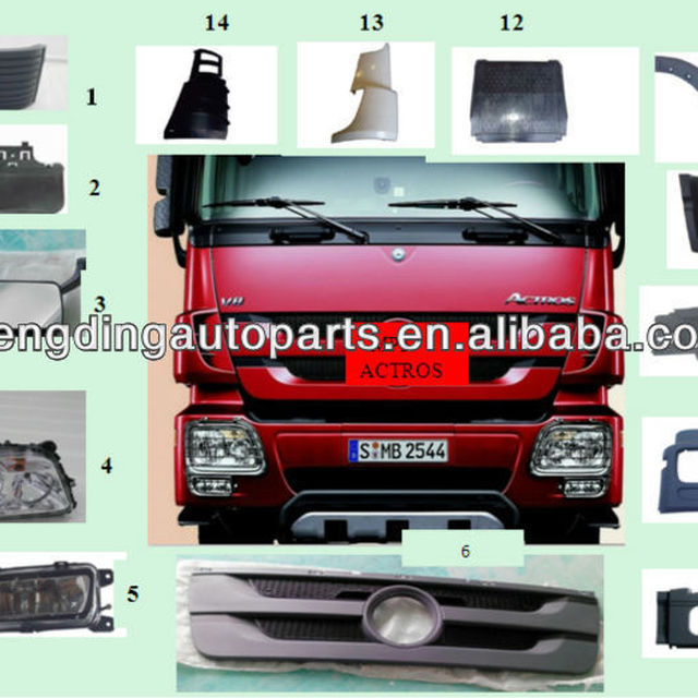for heavy duty truck mercedes benz truck parts