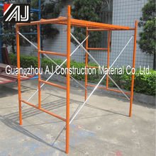 Adjustable Steel Frame Scaffolding for building construction (factory in guangzhou)
