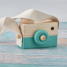 Amazon Hot Sale Kids Educational Multi Color Wooden Toy Camera Mini Wood Camera Toys For Birthday <strong>Gift</strong>