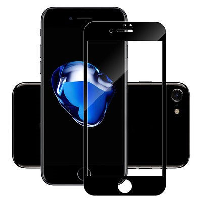 Anti-fingerprint Full Cover Tempered Glass for iphone 6/7 9H 0.33mm Silk Screen Protector for iphone 6/7 Tempered Glass