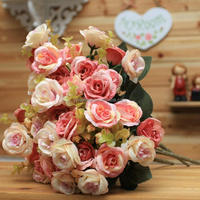 Wholesale export fresh cut flowers roses,decorative edelweiss flowers,flowers artificial(AM-881344-1)