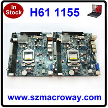 Best Brand NEW 1333 1066 800 memory SATA MINI ITX h61 1155 motherboard