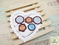 Non-toxic sealing Double colors wax envelope wax stamp