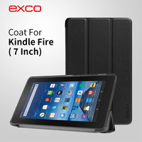 EXCO Newest folding flip stand Silicon Protector Cover for Amazon Kindle Fire 7 / for Kindle Fire HD 7 / for Kindle Fire HDX 7