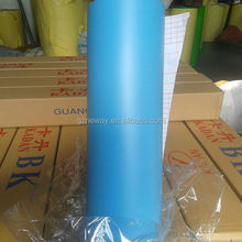 bubble free 1.52*30m blue car wrap film , self adhesive car wrap film for decoration the old Refrigerators