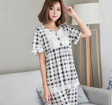 New Design Fashion cotton sleepwear short sleeves pajama designer kurta pajama