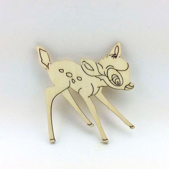 large reindeer wooden christmas decorations made in China