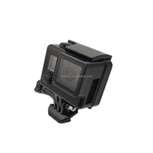 High Quality Side-Opening Skeleton Protective Protector Housing Case WithTouch Screen For Gopro Hero 3+ Hero 4