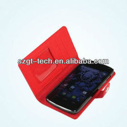 New arrival! wallet leather case/cover/ flip leather case cover for Google Nexus4