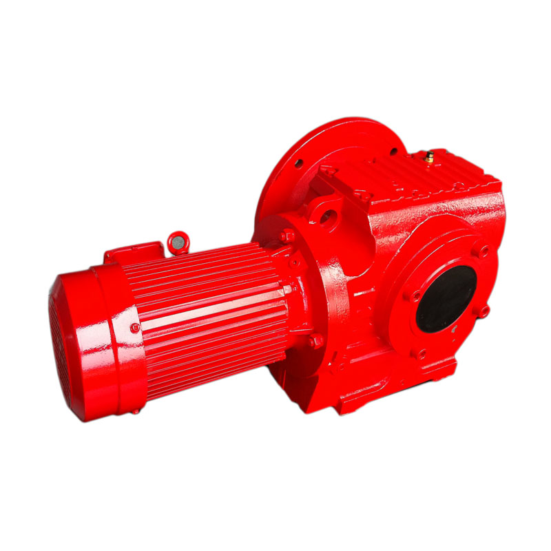 Hollow shaft Helical worm geared motor price