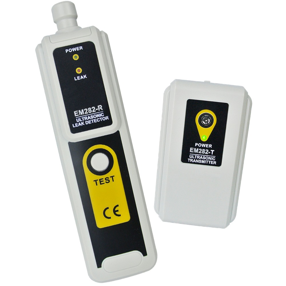 Transmitter Pressure & Vaccum System Locator Detects Air Water Dust Leaks & Ultrasonic Leak Detector