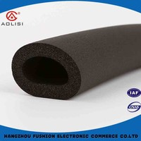 Protective nbr pvc rubber foam pipe tube for air conditioning