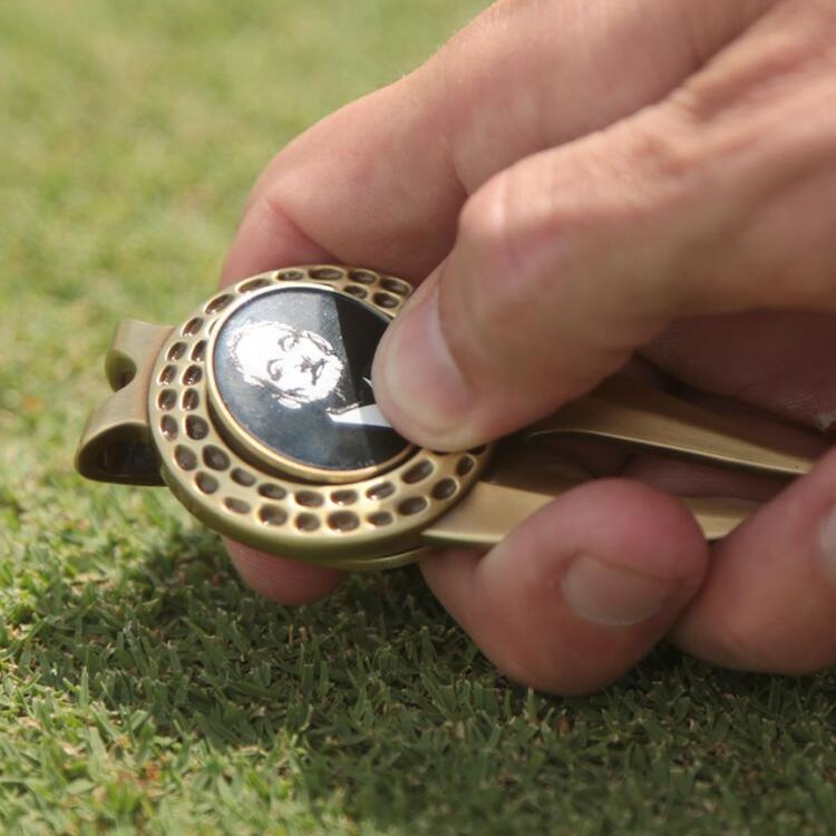 Fork Divot Tool/Fork Repairer / Golf Divot Repair Tool And Ball Marker