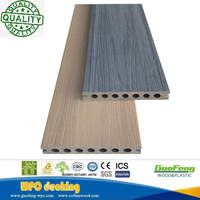New Design Wpc Outdoor Co-extrusion Wood Plastic Composite Deck Flooring Looks Like Wood From China Supplier