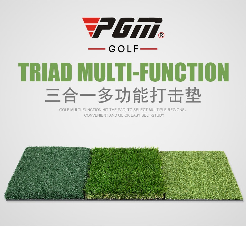 Multifunction mini golf practice mat