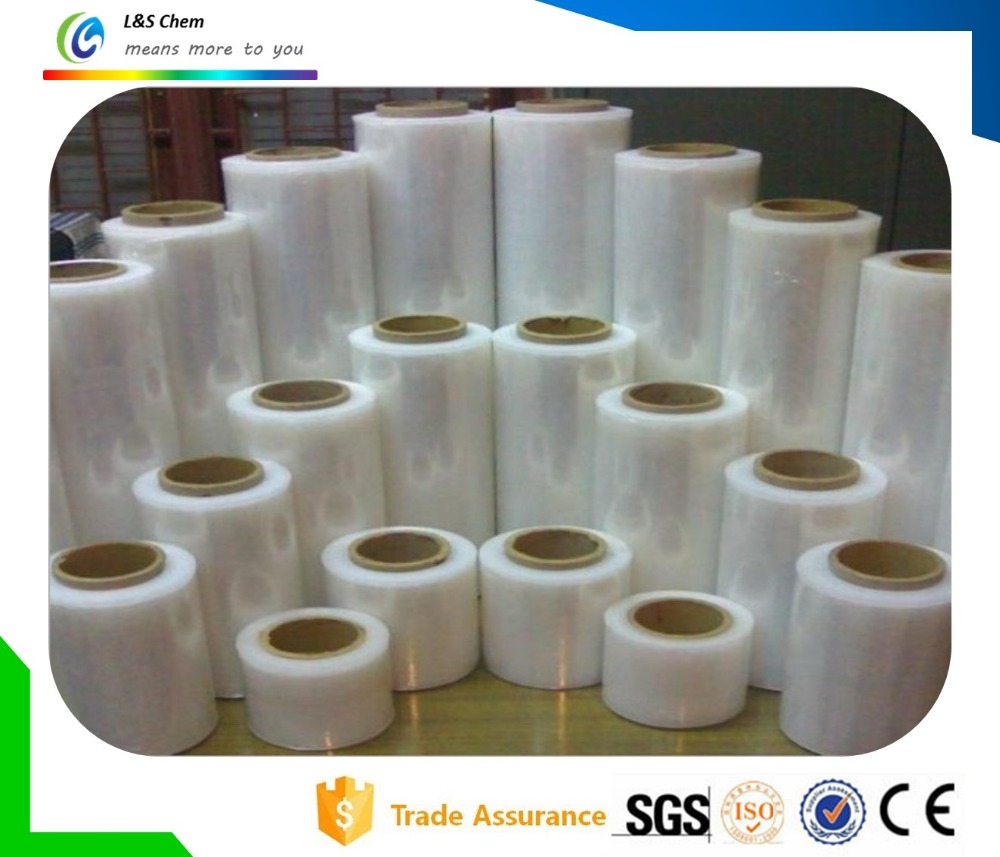 Manual or Machine Stretch Type PE Cling Film for Wrapping Package