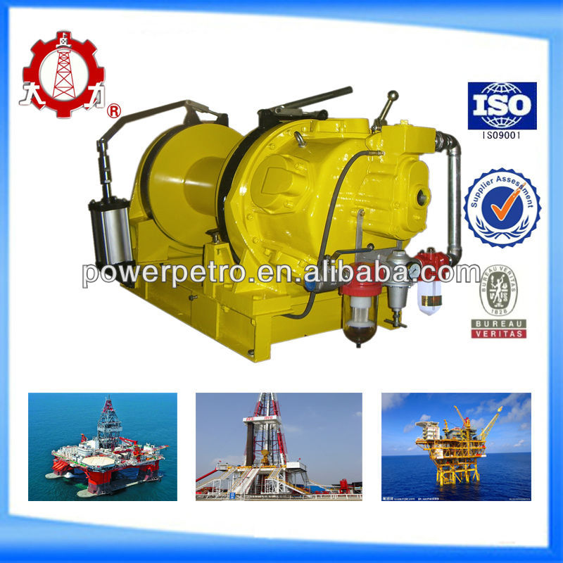 10T Offshore Drilling Rig Platform Air Winch