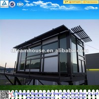20ft/40ft modern cheap modular homes/prefabricated container house philippines/prefabricated glass house