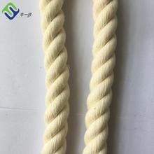 Customizable Braided Cotton Cord Triple-Strand Round Rope