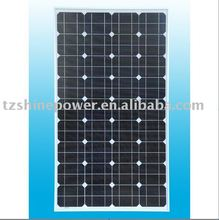 monocrystalline solar panel 60w with cheap price by the manufacturer from China for street LED light for home power system