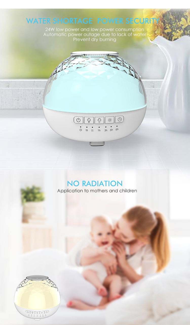 2019 innovative aromatherapy ultrasonic essential oil diffuser 200ml