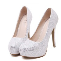 SAA4743 Wedding shoes lady pumps stiletto high-heeled fashion ladies bridal shoes