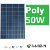 25 years warranty poly 50w solar panels portable