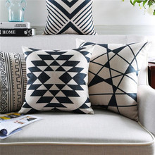 Hot selling Geometric Cushion cover replacement for Sofa Seat
