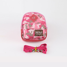 Pink cute fashion bag convenient and good permeability backpack for pet dog