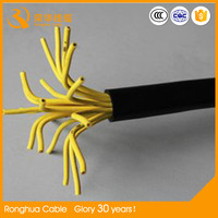 Shielded 4 Core Twisted Pair Signal Control Cable