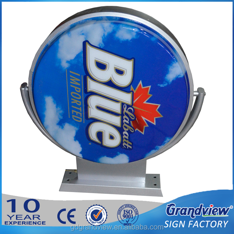 Advertising display Aluminum frame Acrylic forming plastic Illuminate Sign