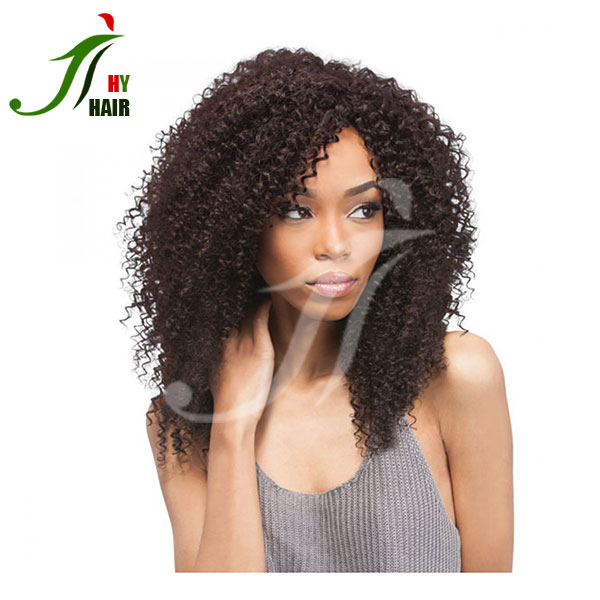 Natural girls hair wig indian long hair full lace wig silk top full lace wig for white women