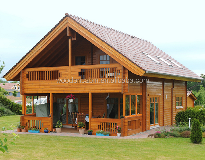 2017 Popular design prefab wooden homes for Europe market