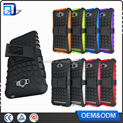Top Cheap Goods Combo Kickstand Tire Pattern Armor Back Cover Case For Zenfone Max Tirepattern Case For Zenfone Max Outdoor