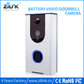 Cell phone control video door phone intercom rechargable battery wireless doorbell for apartments