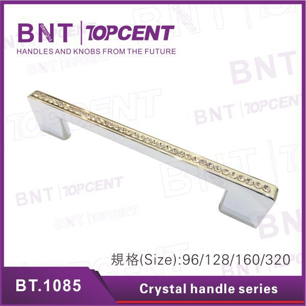 Furniture hardware luxury crystal handles