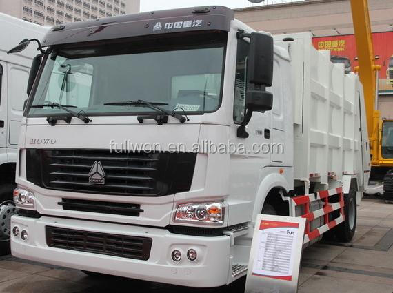 SINOTRUK garbage can cleaning truck for sale TP572163MA