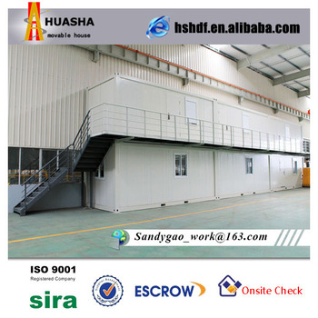 Light Steel Structure Two Storey temporary shop