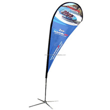 Outdoor Display Teardrop Beach Flying Banner/Flag