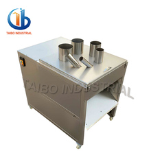 Adjust slice size onion cutter /potato curly fry cutter/ machine to cut potatoes
