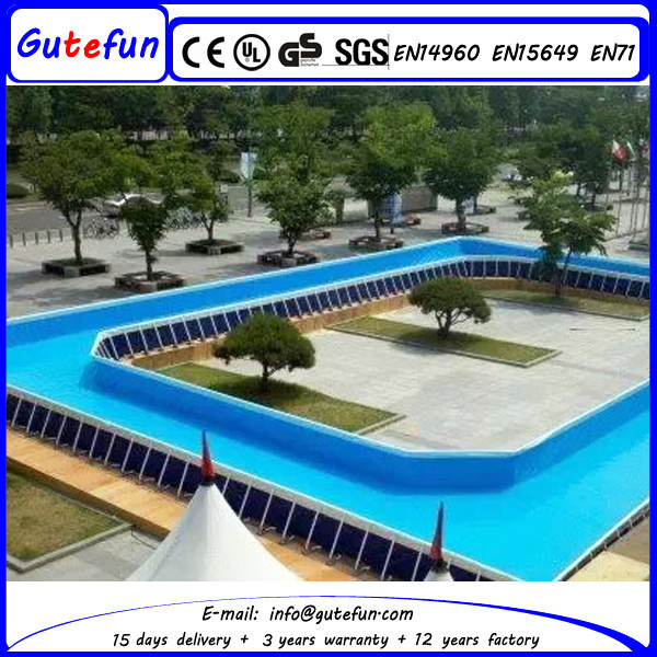 a swimming pool used fiberglass pool