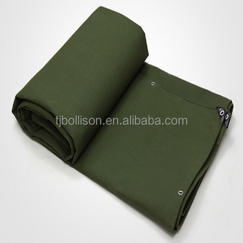 Heavy Duty Fire Retardant Waterproof Canvas Tarpaulin