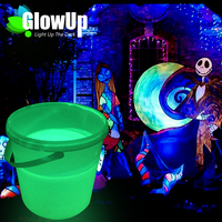 glowing pigment for fabric paint, phosphor paint pigment, photo luminescent powder pigmento