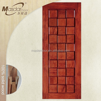 Antique Carved Solid Wood Main Door Designs Of Residential House
