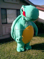 Giant standing inflatable turtle inflatable ocean life animal yard decoration
